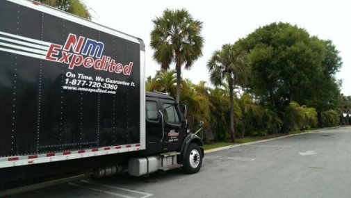 Palm Trees Expedited Truck